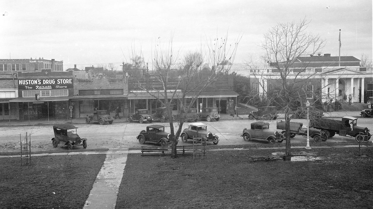 West Side of Bay City Square, mid 1920s.