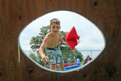 Bay Head Elementary School held their Davey Jones Day fun fair that included a water slide, games, food and more on Saturday June 8, 2019. (MARK R. SULLIVAN /THE OCEAN STAR)