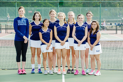 2016 Girls V Tennis