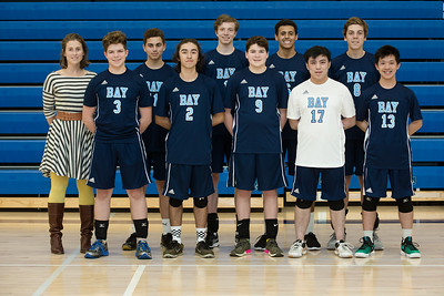 2018 Boys VOlleyball Action