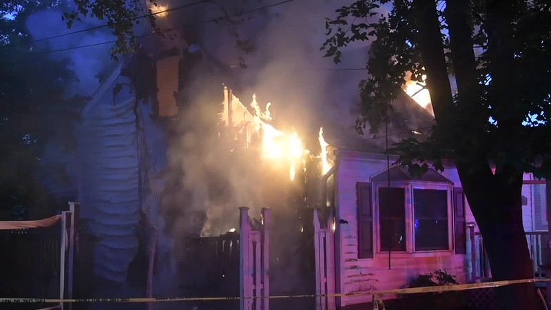 Bay Shore House Fire - Paul Mazza