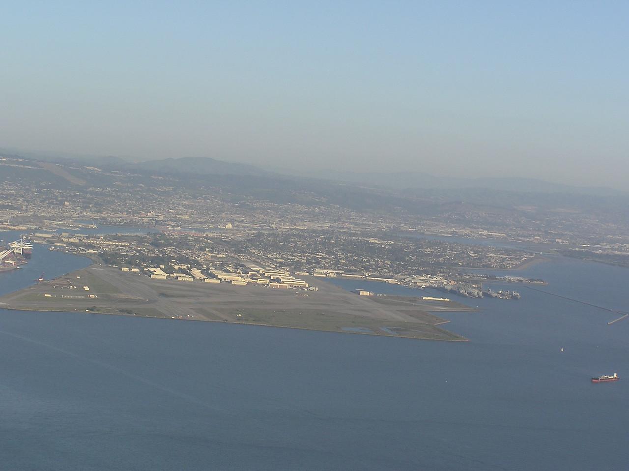 Former Alameda Naval Air Station