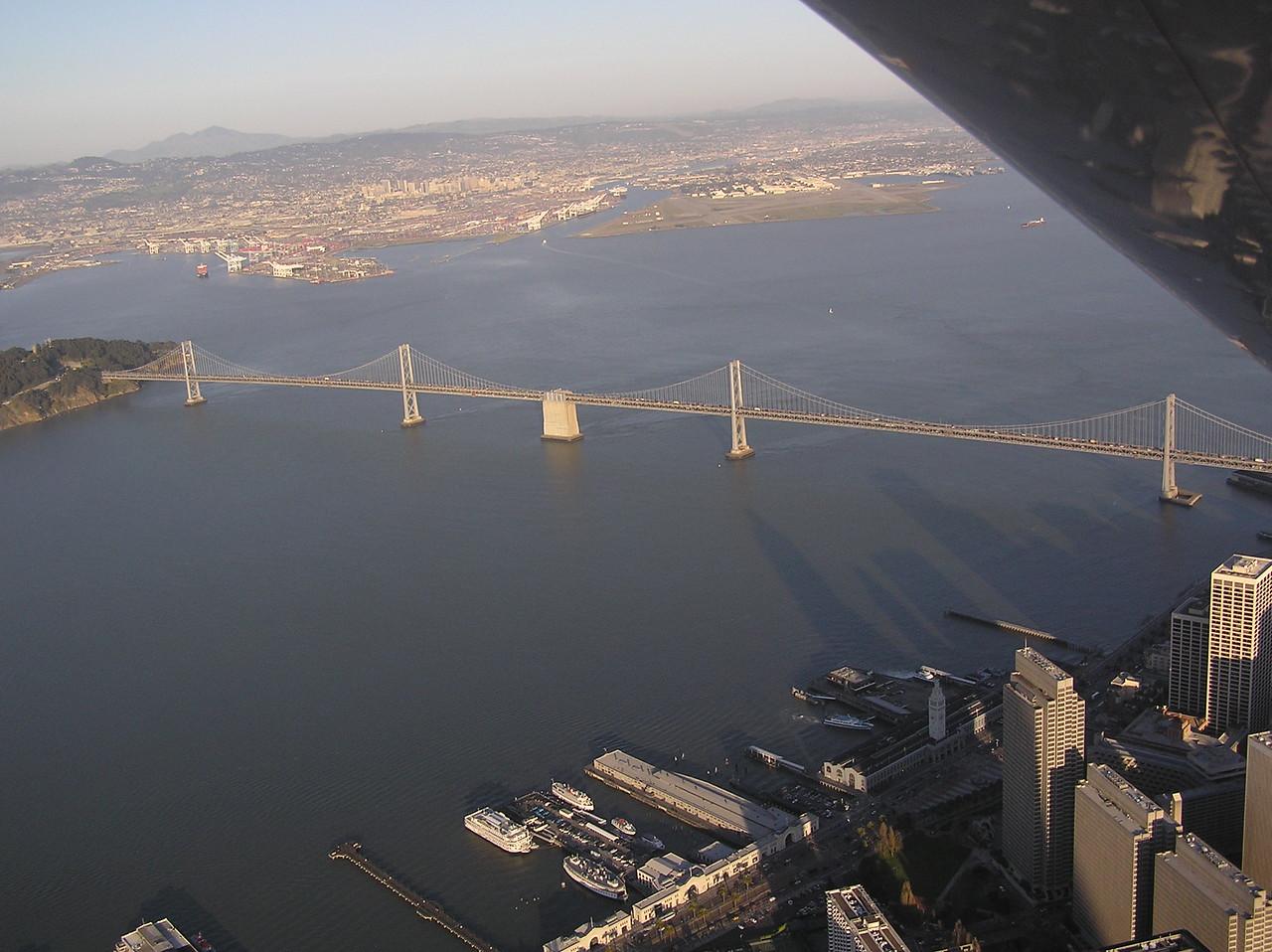 West end of San Francisco Bay Bridge