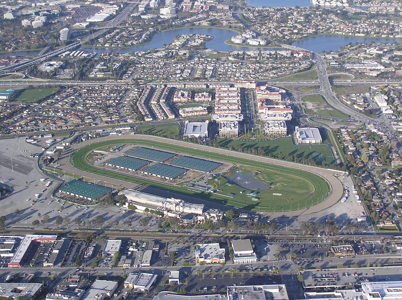 Bay Meadows racetrack