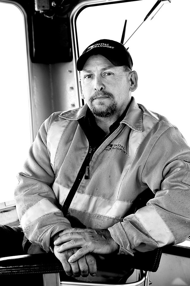 Reed Frankland.Lady Whitehead ferry deckhand