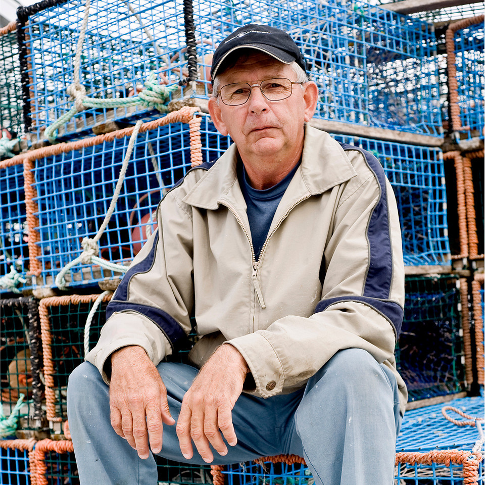 Burry Russell.Lobster Fisherman