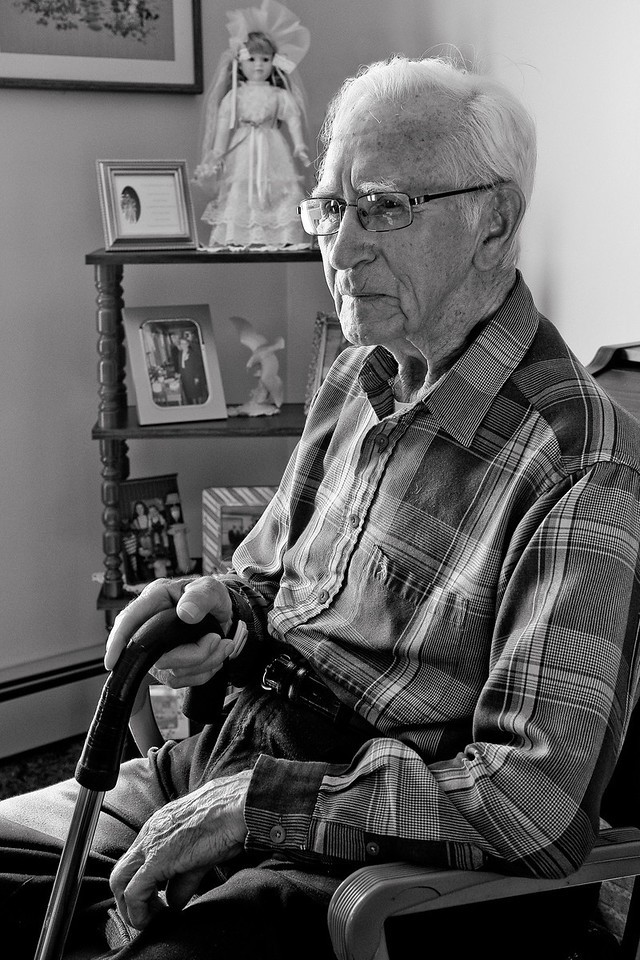 Lester Carroll. The Oldest Man On the White Head Island