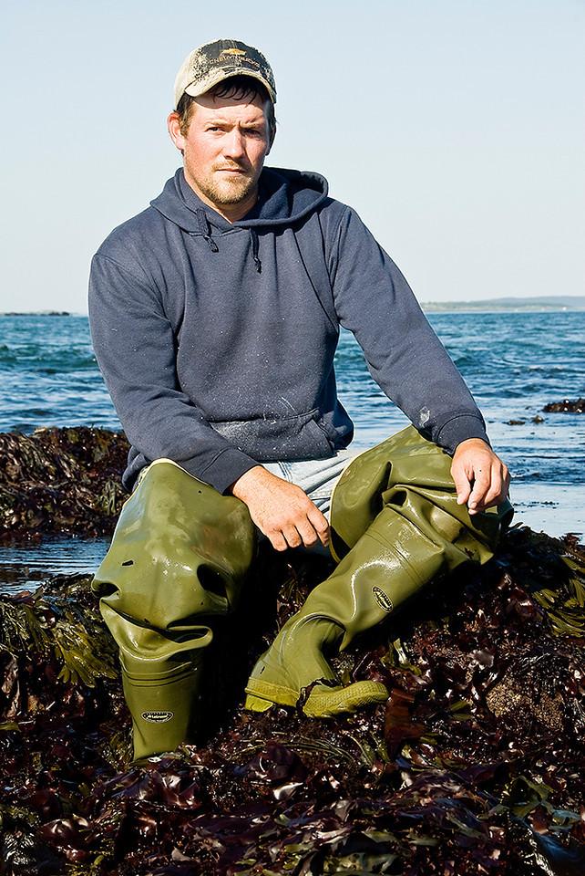 Josh Dagget. Lobster Fisherman
