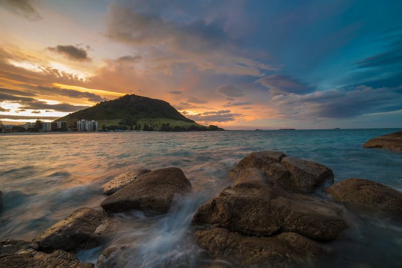 Stormy Mount Maunganui