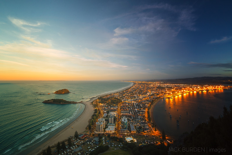 Mount Maunganui Day to Night