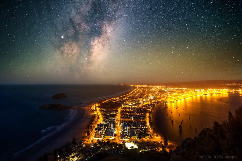 Mount Maunganui Milky Way