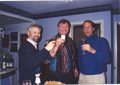 toasting the new company, oct. 1992