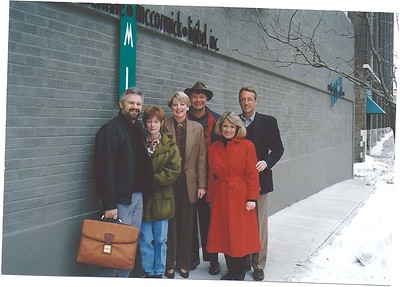 founders off to new orleans for first shareholders meeting- 1994