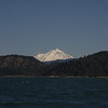 View of Mt. Shasta from Lake Shasta.