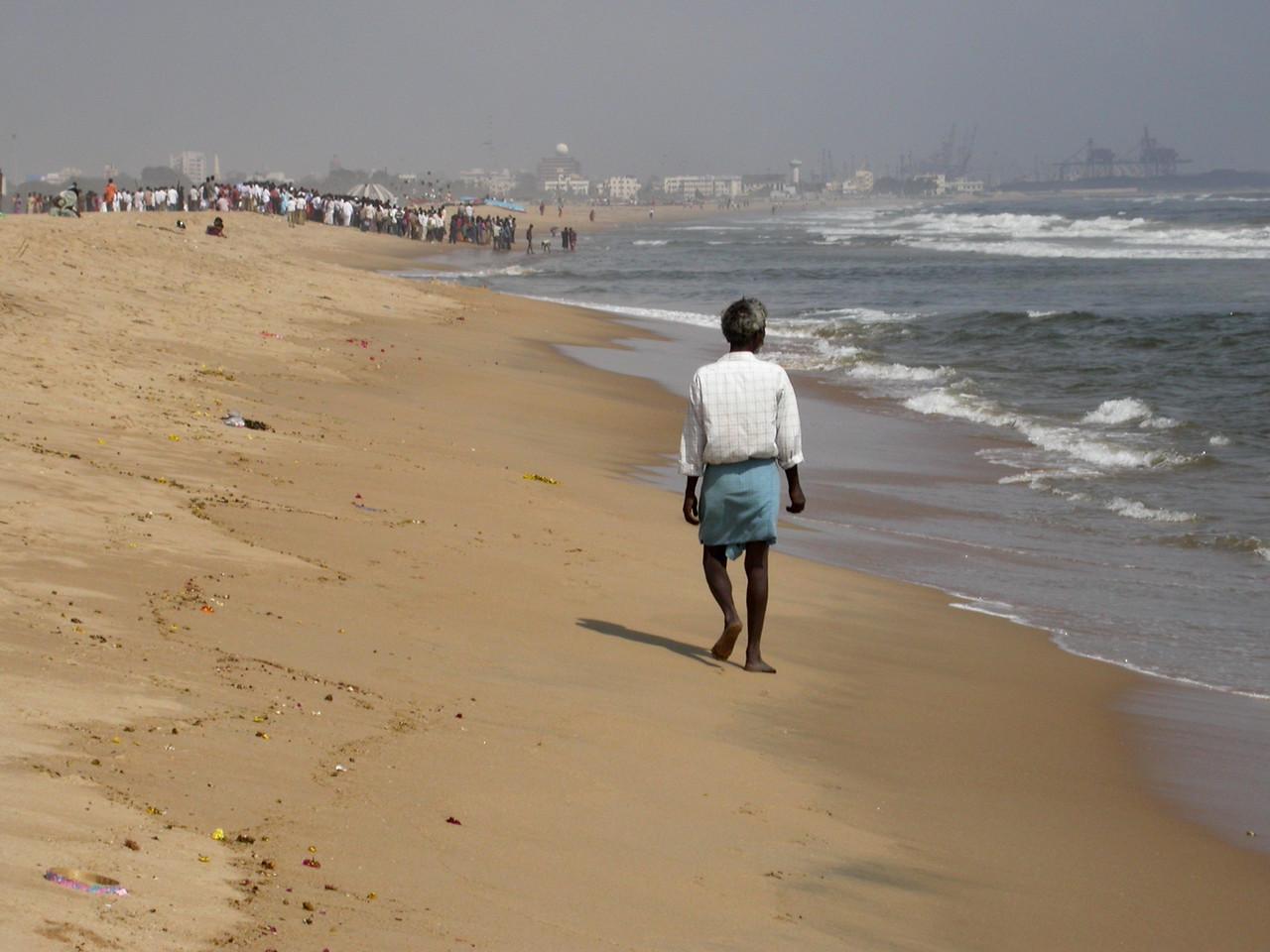 Jahrestag des Tsunami vom 26. Dezember 2004 in Chennai.