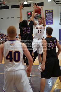 2017 January 3 Bayfield High School Boys Varsity Basketball vs Kirtland Central
