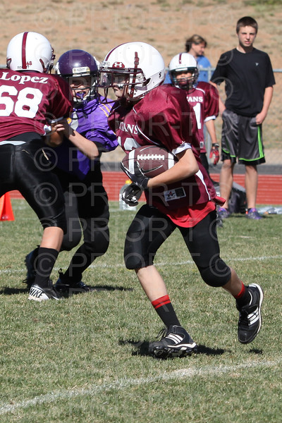 Bayfield 6th Grade YAFL vs Cortez Saturday October 6, 2012