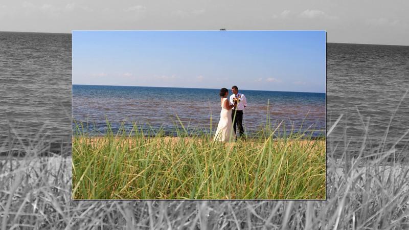 BeachWeddings-Herbster, Cornucopia South Shore of Lake Superior Photographer