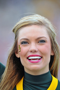 03 Dec 2011:   Baylor Bears Cheerleaders in action during the game between the Texas Longhorns and the Baylor Bears at Floyd Casey Stadium in Waco Texas. Baylor wins 48-24 Manny Flores/CSM(Credit Image: © Manny Flores/Cal Sport Media/ZUMAPRESS.com)