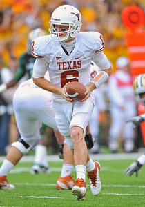 03 Dec 2011:   Texas Longhorns quarterback Case McCoy (6) in action during the game between the Texas Longhorns and the Baylor Bears at Floyd Casey Stadium in Waco Texas. Baylor wins 48-24 Manny Flores/CSM(Credit Image: © Manny Flores/Cal Sport Media/ZUMAPRESS.com)