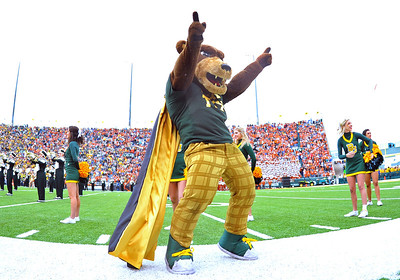 03 Dec 2011:   Baylor Bears mascot Hex Tex in action during the game between the Texas Longhorns and the Baylor Bears at Floyd Casey Stadium in Waco Texas. Baylor wins 48-24 Manny Flores/CSM(Credit Image: © Manny Flores/Cal Sport Media/ZUMAPRESS.com)