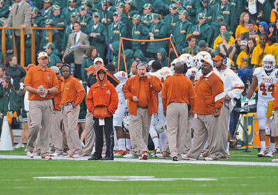 03 Dec 2011:   Texas Longhorns head coach Mack Brown in action during the game between the Texas Longhorns and the Baylor Bears at Floyd Casey Stadium in Waco Texas. Baylor wins 48-24 Manny Flores/CSM(Credit Image: © Manny Flores/Cal Sport Media/ZUMAPRESS.com)