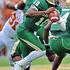 03 Dec 2011:  <br /> Baylor Bears quarterback Robert Griffin III (10) looks downfield to pass the ball during the game between the Texas Longhorns and the Baylor Bears at Floyd Casey Stadium in Waco Texas.<br /> Baylor wins 48-24<br /> Manny Flores/CSM(Credit Image: © Manny Flores/Cal Sport Media/ZUMAPRESS.com)