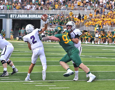 This defensive play ended up in a Baylor interception.