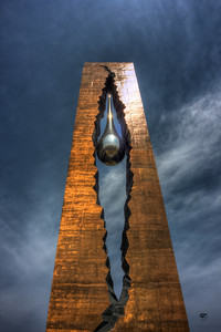 Tear Drop Monument, Bayonne, NJ