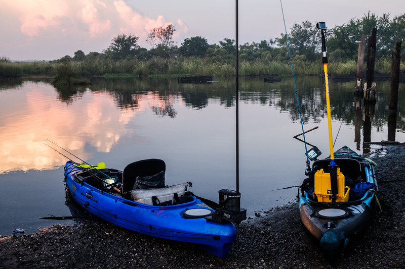 Dueling Kilroys set up for a day of fishing