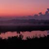 Sunrise at Bason's Marina on Highway 1, Louisiana