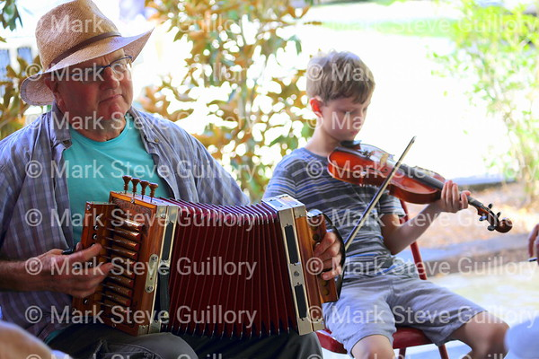 Music Jam, Bayou Teche Brew, Arnaudville, Louisiana 08052018 038