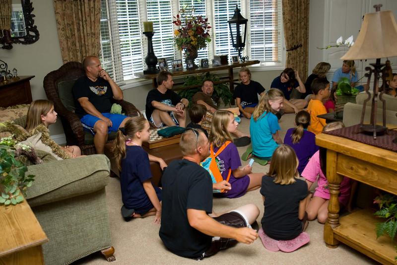 Club 56 Baptism - August 17, 2008