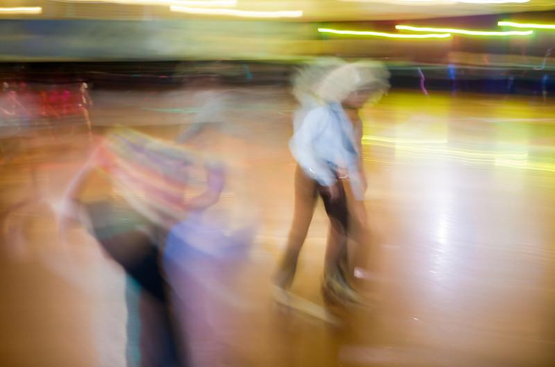 Disco Roller Skate - Aug 26, 2009