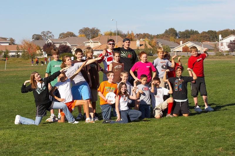 Ultimate Frisbee - November 20, 2005