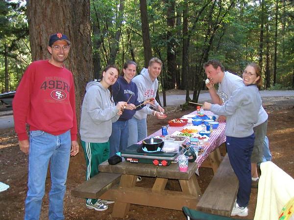 Camping At Scott's Flatt Lake - June 6, 2005
