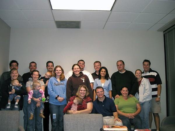 Granite Bay Small Group - October 4, 2005