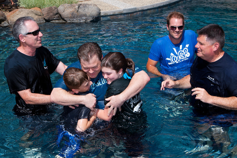 Adult Baptism - August 21, 2011