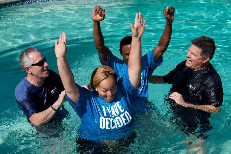Baptism - July 8, 2012
