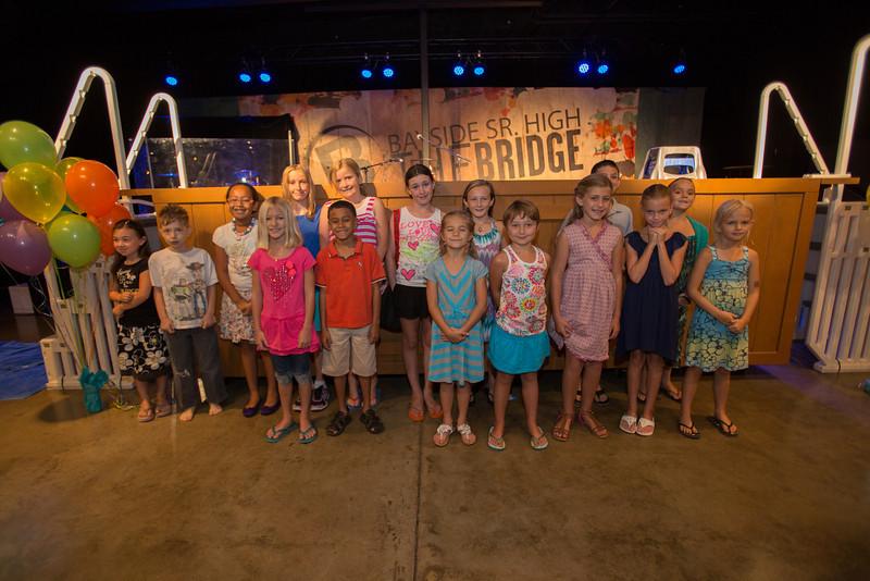 Childrens Baptism - August 17, 2013