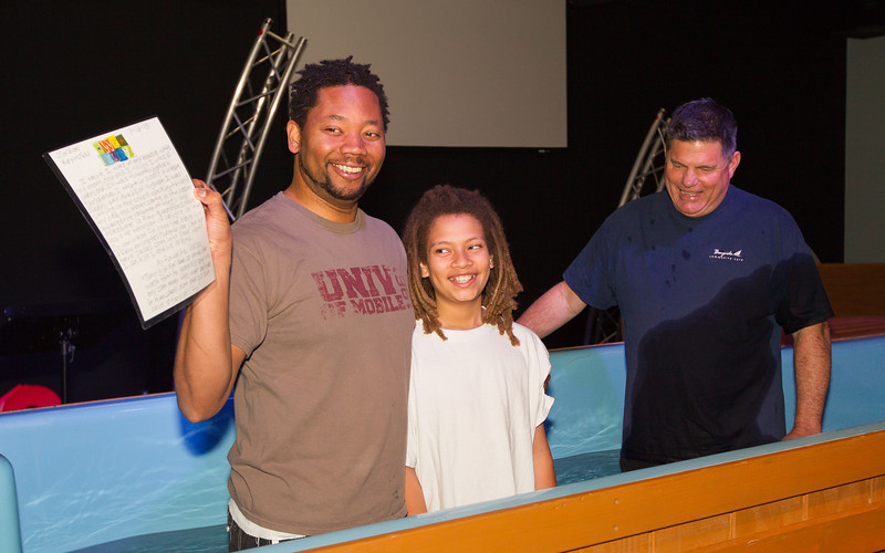 Childrens Baptism - March 9, 2013