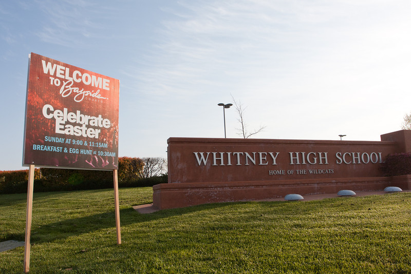 Easter 2012 Whitney High School Rocklin - April 8, 2012