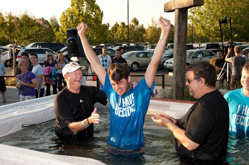 Week of Waiting on God Baptism Pool 2