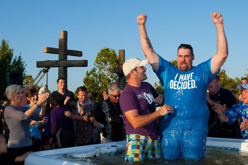 Week of Waiting on God Baptism Pool 1