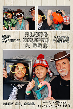 Another successful Blues Brews & BBQ Festival! Thanks everyone for stopping by!  If you're looking to have the PhotoSwagon or a photo booth at your next event, head to www.bluebuscreatives.com for more info!