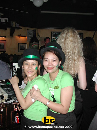 St Patrick's Day @ Delaney's | 17 March 2002