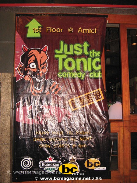 Comedy night@Amici May 2006-001