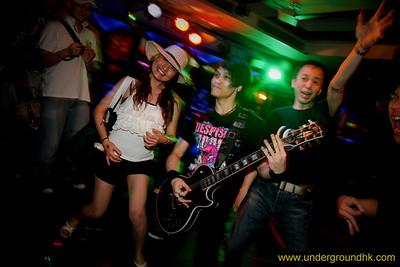 underground cd3 launch party 2@rockschool | 24 april 2010