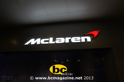 McLaren 50 12C Launch Party - 13 December, 2013