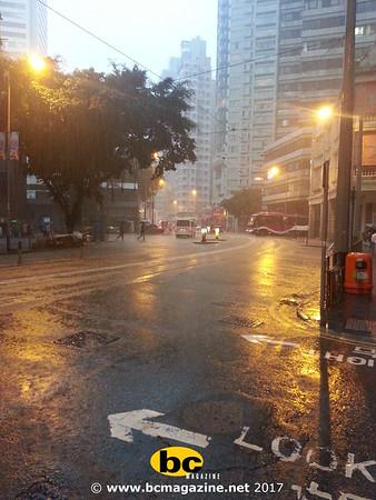 Black Rain Signal @ Causeway Bay - 24 May, 2017